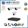 Trọn bộ 3 camera kbvision full HD