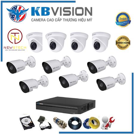 Trọn bộ 10 camera kbvision full HD