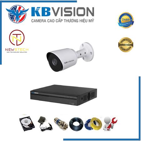 Trọn bộ 1 camera kbvision full HD