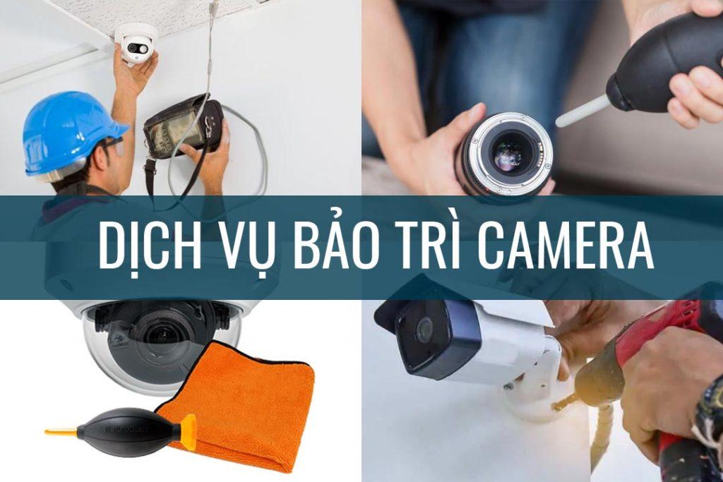 Dịch vụ bảo trì camera