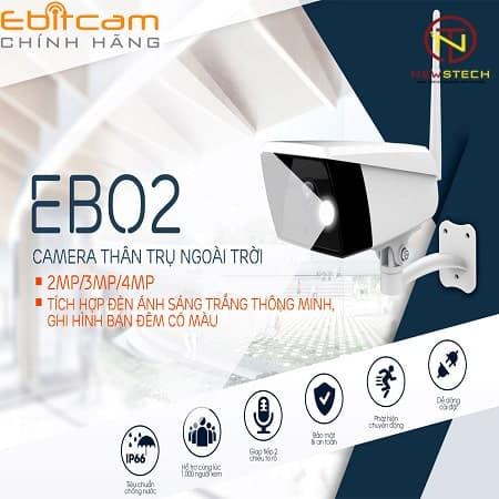 camera wifi EBO2 STARLIGHT