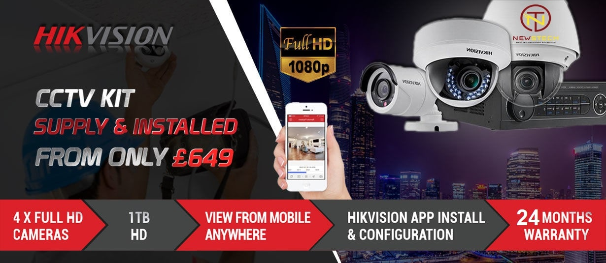 Lắp đặt trọn bộ camera hikvision giá khuyến mãi