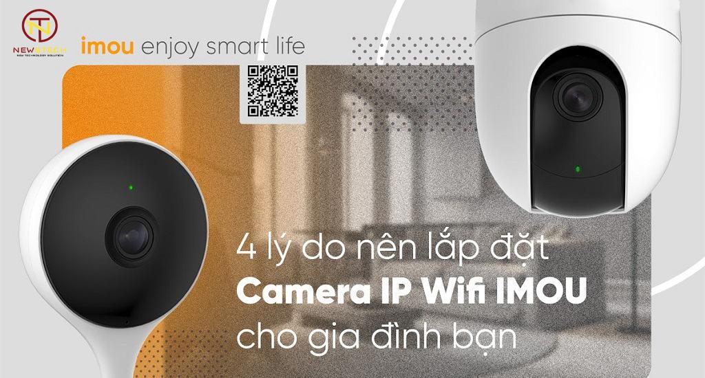 Camera ip Imou chính hãng bảo hành 24 tháng