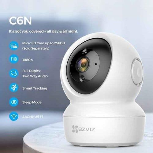 lắp camera IP Ezviz C6N